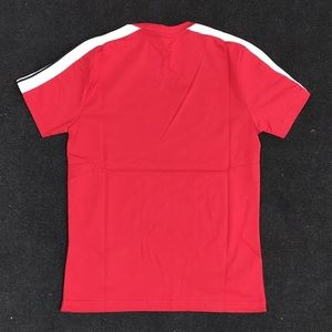Palm Angels Shirts - PALM ANGELS SHOULDER DETAIL RED MEN T-SHIRT